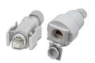 Tactical Heavy Duty CatSnake 1305A Category 5e Patch Cable 1x IP67 RJ45 Plug, 1x IP67 RJ45 Socket