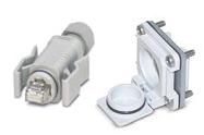 Deployable Cat5e Belden CatSnake 1305a Assembly, 1x IP67 RJ45 Plug & 1x IP67 Embedded Socket