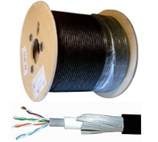 External Armoured Cat5e & Cat6 Cable