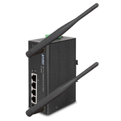 IAP-2000PE - Planet Industrial 802.11n Wireless Access Point 4-Port 10/100Base-TX Ports with 1-Port PoE (Powered Device) Wide Operating Temperature (-10 to 60 degrees C) - Industrial Wireless